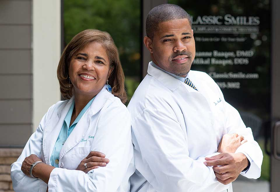 Dr. Susanne I. Baaqee, D.M.D. and Dr. Mikal Baaqee, D.D.S. at Classic Smiles